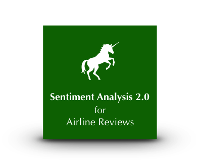 Unicorn Sentiment Analysis 2.0 for Airline Reviews
