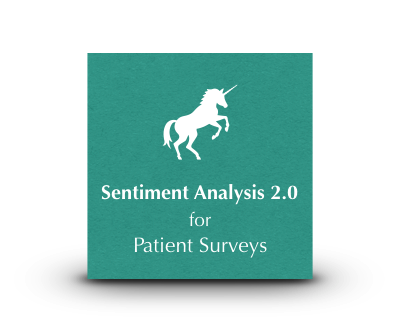 Unicorn NLP Sentiment Analysis 2.0 for Patient Reviews